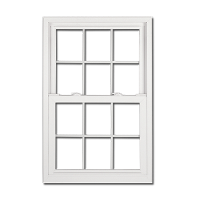 White Square Window